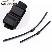"2PCS 26""+17"" Windshield Wiper Blade Bracketless Rubber Arm Blade for Ford Focus MK2 2004-2010(China)"
