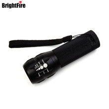 Professional for Lighting! CREE Q5 Mini LED Flashlight 3 Modes Zoomable LED Light lanterna strong lumen penlight(China)