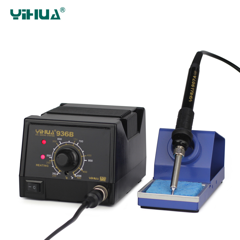 YIHUA 936B PCB Circuit Board Digital Lead Free Soldering Station<br>