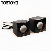 High Quality Surround 3D Subwoofer Stereo Bass Mini USB Speaker PC Computer Speakers Loudspeaker Voice Box for Laptop Notebook