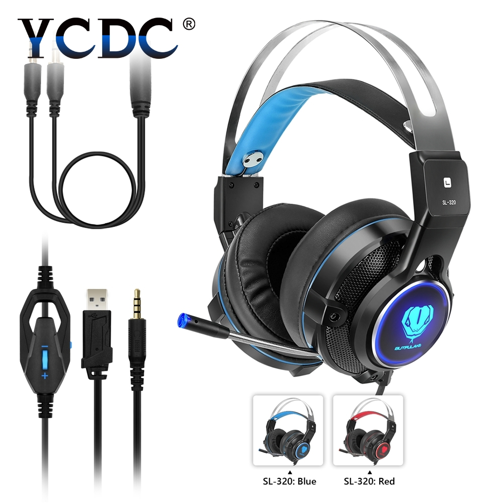 YCDC 3.5 mm Adjustable Headset Earphone Detachable Earbuds Headphone fone de ouvido with Microphone for Cellphone,Computer<br>