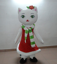 Hello Kitty Cat mascot suit Christmas plush Christmas clothing products