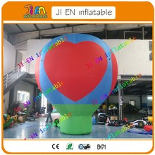free air shipment to door!5m/17ft inflatable balloon,giant inflatable advertisement balloon/promotion inflatable balloon(China)