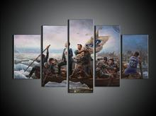 Where the greatest play' poster Canvas Painting Home Decor Playstation, Flag, Boat, Ps4, Logo Cuadros Decoration Wall Pictures