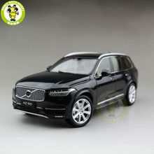 1/18 Volvo XC90 2015 SUV Diecast Model Car SUV Black(China)
