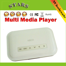 New NBOX DivX Hard Driver RMVB RM MP3 AVI MPEG Divx HDD TV USB SD Card HDTV Media Player Nbox media player with Remote Control