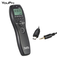 YouPro YP-880 S2 Camera Wired Shutter Release Timer Remote Control LCD Display for Sony A58 A7R A7 A7II A7RII A7SII Series DSLR