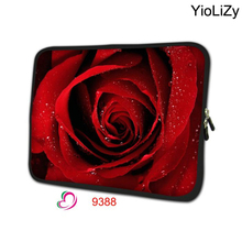 rose notebook liner Sleeve case 7 9.7 11.6 13.3 14.1 15.6 17.3 inch Laptop pouch tablet Bag PC cover computer protector NS-9388
