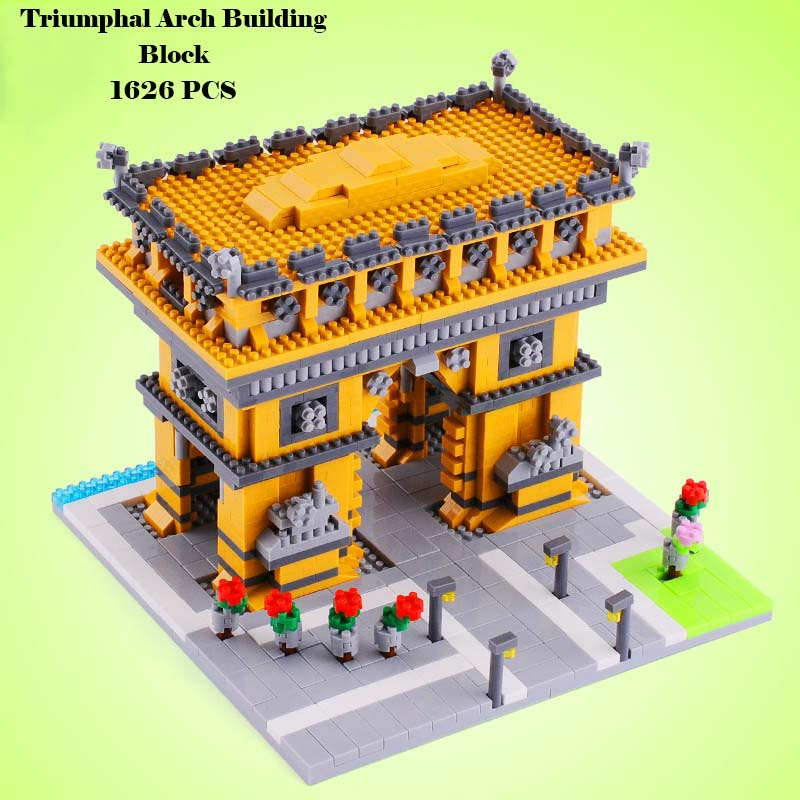 France Triumphal Arch Building Blocks Model Architectures Models Unisex Plastic Diamond Blocks Kits 1626 PCS Birthday Gifts YZ05<br><br>Aliexpress