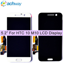 "5.2"" For HTC M10 10 LCD Display With Touch Screen Digitizer Assembly Replacements Parts For HTC 10 Display Pantalla(China)"