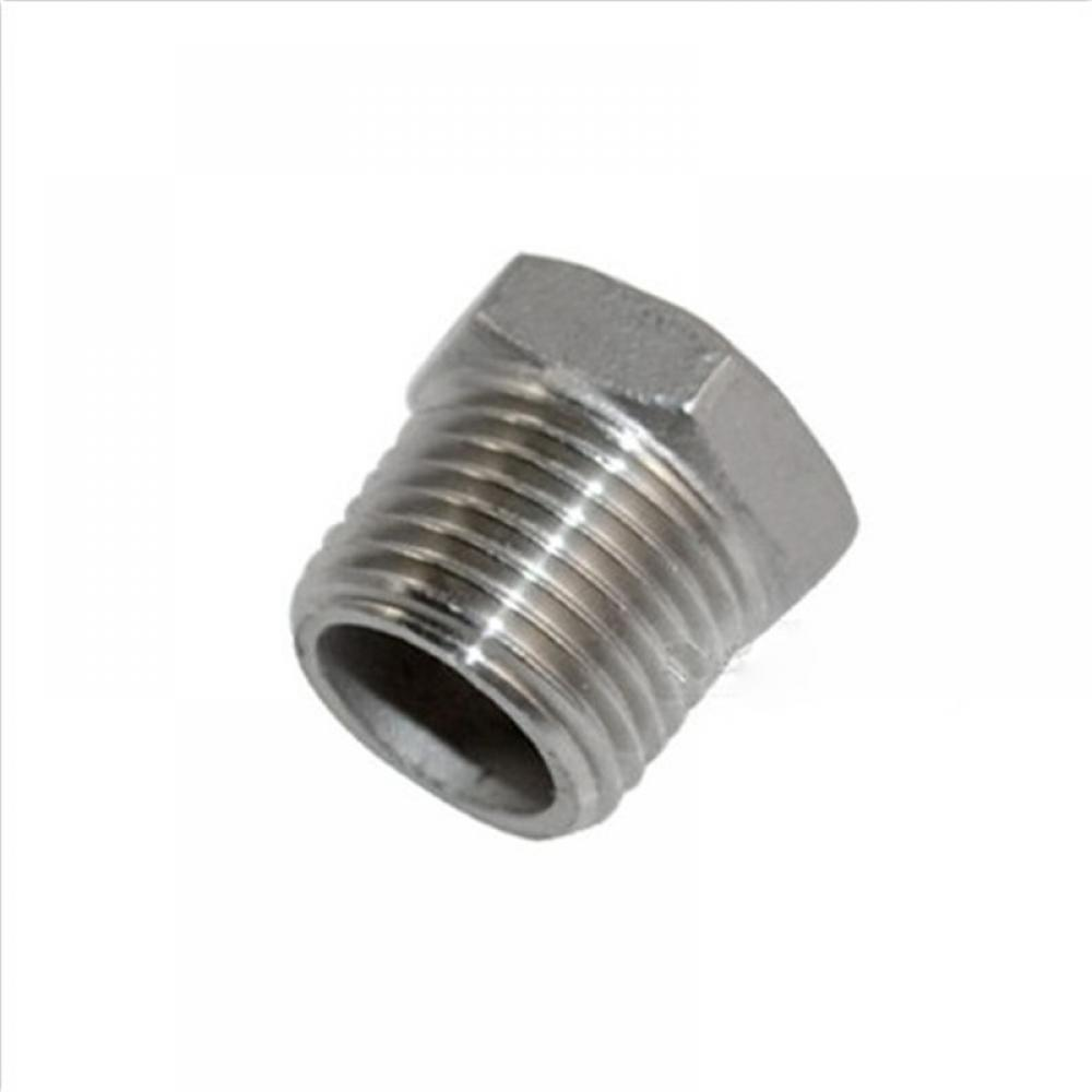 """1//2/""""x3//8/""""Female Nipple Threaded Reducer Pipe Fitting Stainless Steel 304 BSPT"""