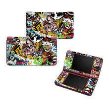 Wholesale Price Bombs Vinyl Skin Sticker Protector for Nintendo DSI XL for NDSI XL skins Stickers(China)
