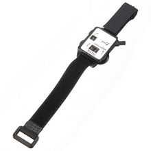 PROMOTION!Golf Club Stroke Score Keeper Count Putt Shot Counter Watch w/ Wristband Band Black(China)