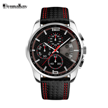 Bounabay 2017 waterproof watch for man quartz automatic wristwatch mens famous brand watches topmerk original shock clock cheap