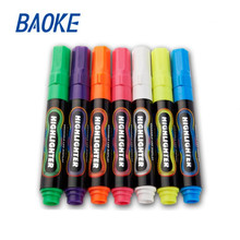 1pcs   liquid chalk marker pen erasable multi-color LED writing board Metallic Pastel Neon  glass window art painting  shop w