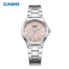 Casio Brand High quality Quartz-watches Stainless Steel Wristwatches Fashion Women Watch Ladies Wrist casual watch LTP-V300L-4A