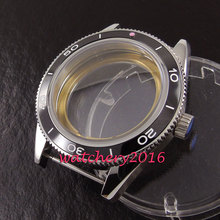 41mm Debert sapphire stainless steel case fit eta 2824 2836 miyota 8215 8205 automatic watch case(China)