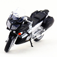 1:18 Yamaha Motorcycle Toy, Die Cast + ABS FJR1300 Motorbike, Miniature Emulation Motor Cycle Models, Kids Toys, Juguetes(China)