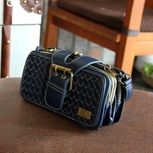Buy Vintage Woven Bag Handbags 2016 New Korean Version Small Package Messenger Bags Retro Handbag Shoulder Bag Diagonal Package for $22.15 in AliExpress store