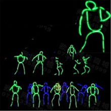 Low Price Led Luminous Flashing Growing EL Wire Costume Robot Suits Dance Wear For Stage Show,Club, Bar,DJ DHL Free Shipping(China)