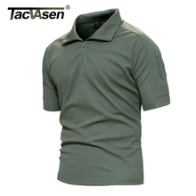 Buy TACVASEN Men Breathable Summer Military T-Shirt Army Combat Men T Shirt New Brand Turn-Down Collar Top Men TD-YCXL-016 for $15.98 in AliExpress store
