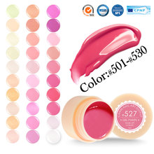 #50618 Hot Sale 5ml LED&UV Nail Gel 141 Pure Mix Colors Can Choose Nail Art Painting Gel Soak off  501~530