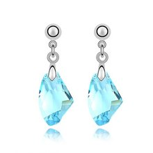 2016 New  Dropship made with Austria  crystal earrings for women Sales