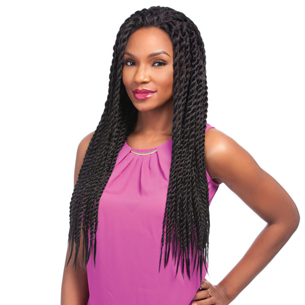 Hot  sale  Empress Havana  Mambo  Twist  braid   2X  and 3X Braided Synthetic Lace Front Edge Wig Senegal Twist Braid<br><br>Aliexpress