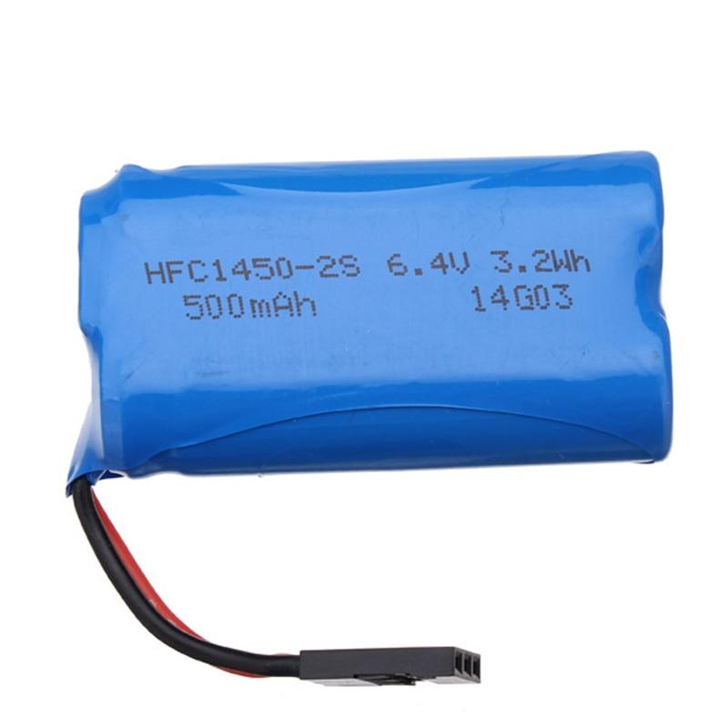 HBX 2098B 1/24 4WD RC Car Li-ion Battery Pack 6.4V 500mAH<br><br>Aliexpress