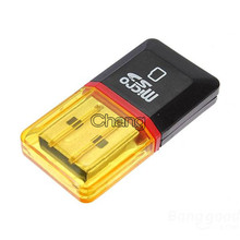 Hot Diamond USB 2.0 Hi-Speed Micro SD SDHC TF Card Reader Support 128MB-32GB