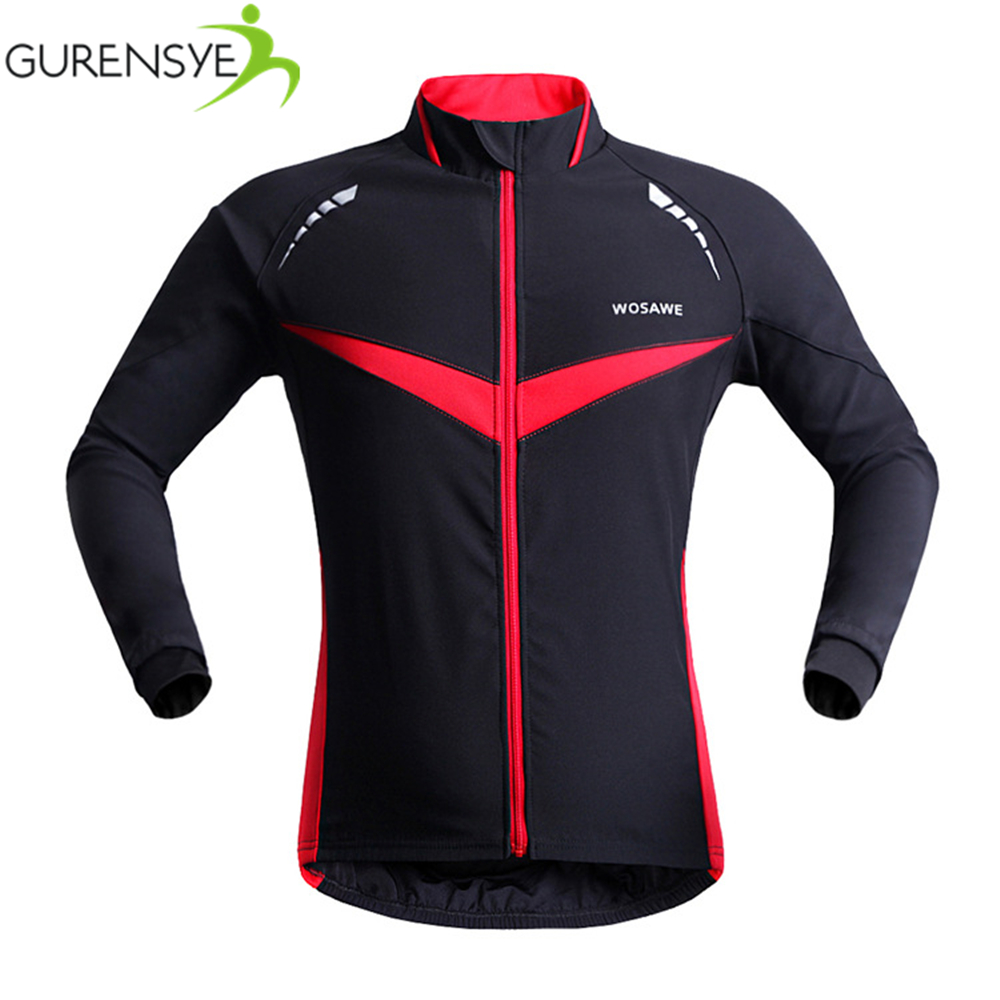 Men Breathable Thermal Cycling Jacket Winter Warm Up Bicycle Clothing Windproof Waterproof Soft shell Coat MTB Bike Jersey B266<br><br>Aliexpress