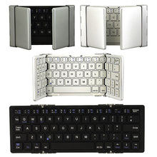 Newest Portable Foldable Wireless Bluetooth Keyboard Android Windows iOS Systems Tablets