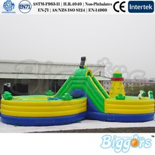 Free Shipping By Sea Outdoor Inflatable Jumping Bouncy House Slide Fun Park For Playground Equipment