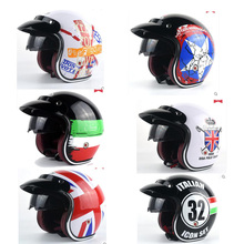 National flag design motorcycle helmet male women's personality four seasons safety helmet Captain America Casco de la motocicle(China)