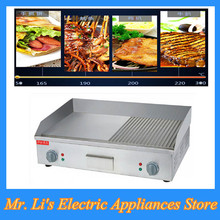 1pc Stainless Steel Fried Flat Pan Electric Griddle and Electric Grills for Restaurant FY-600(China)