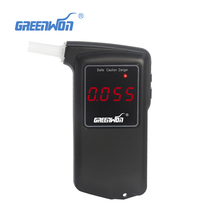 Drop shipping 5pcs/lot Professional Digital Breath Alcohol Tester Breathalyzers parking alcohol meters(China)