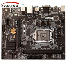 New Motherboard M-ATX Board LGA1151 Socket Mainboard Intel B250 DDR4 32GB Latest Board BIOS Support I3 I5 I7 CPU Dual Processor