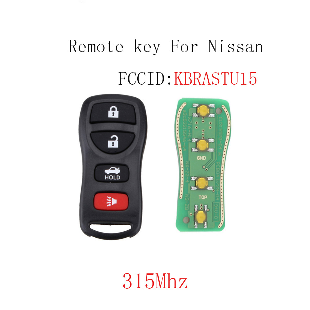 NEW Keyless Entry Key Fob Remote For a 2006 Infiniti G35 4BTN Free Programming