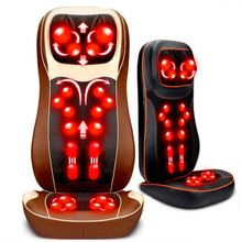 Vibration Massage Chair Mat Neck Full-body 3D Mechanical Massage Pad Massage Device