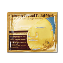 DHL 1000pcs/lot Skin Care Facial Mask Gold Collagen Gold Crystal Collagen Powder Face Mask for Moisturizing Firming Oil-control(China)