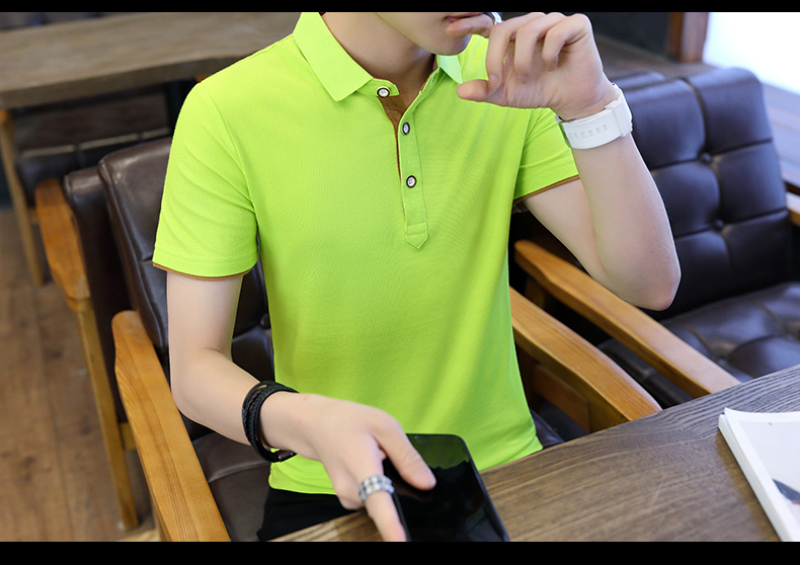 SD Polo Shirts Men 2018 New Arrivals Casual Male Polo Shirts Breathable Cotton Tops High Quality Solid camisa Polos Homme 413 17
