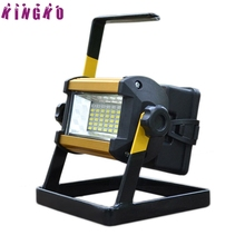 High Quality 50W 36 LED Portable Rechargeable Flood Light Spot Work Camping Fishing Lamp15(China)
