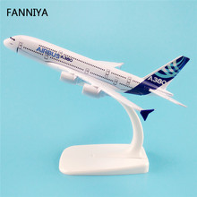 16cm Alloy Metal Airbus A380 Airlines ProtoMech Development Aircraft Airplane Model Plane Model W Stand Gift(China)