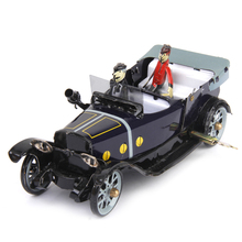 New Wind Up Toys Roadster Vehicle Convertible Car Tin Toy Collectible Gift with Wind Up Key for Kids Children Collect Decoration(China)