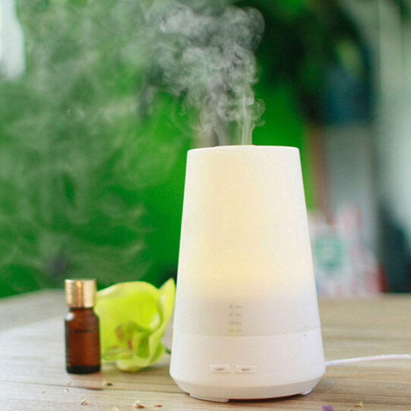 Free Shipping 220V Ultrasonic Humidifier Aromatherapy Air Humidifiers 100*145mm with Warm Light humidificateur<br>