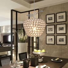 modern best-selling LED Square k9 crystal Apple Chandeliers Crystal/Al AC85-260V crystal Apple lighting(China)