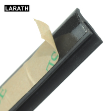 LARATH 2 Meter V Type 3M weatherstrip Sealed Strips Trim Car Window Seal For Car Window weatherstrip Glass Car Accessories(China)