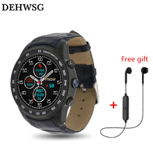 DEHWSG smart watch kw88 plus Android 5.1 MTK6580 watch phone 512MB+8GB Support Heart rate monitor 32GB TF SIM Card 3.0MP Camera