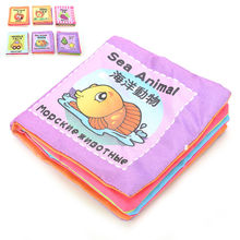 Wholesale Baby Toy Infant Sun Cloth Book Toys Doll Toy Learning & Education For 0-3Y Early Development Books Kids Gifts 8 Pages