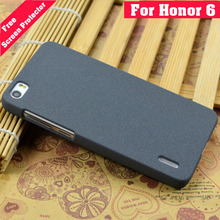 Huawei Honor 6 Case Plastic Frosted Ultra Thin High Quicksand Scrub Cover Case For Huawei Honor 6 Free Screen Protector